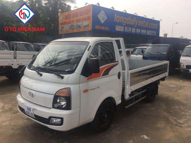 Xe tải Huyndai H150 thùng lửng