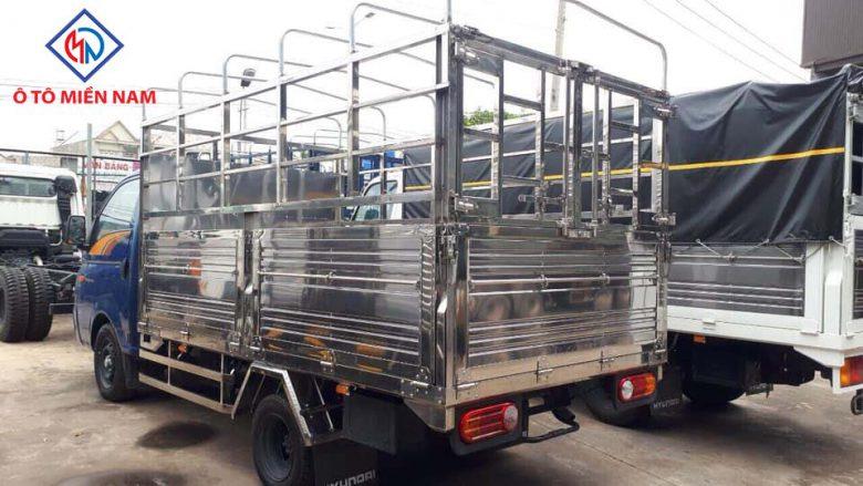 xe tải HUYNDAI NEW PORTER H150 THÙNG BẠT: